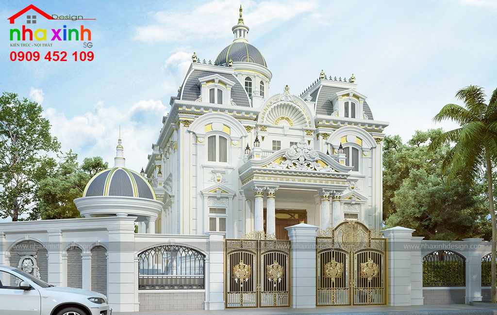Biệt Thự Cổ Điển 2 Tầng Ấn Tượng Với Nội Thất Sang Trọng | Chị Kim Anh